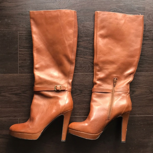 Jessica Simpson Shoes - Jessica Simpson Khalen Tall brown leather boots- 8